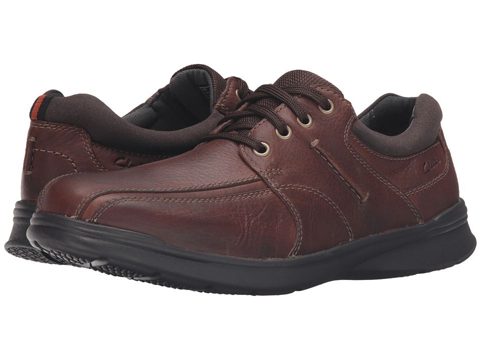 Clarks - Cotrell Walk (Tobacco Oily Leather) Men