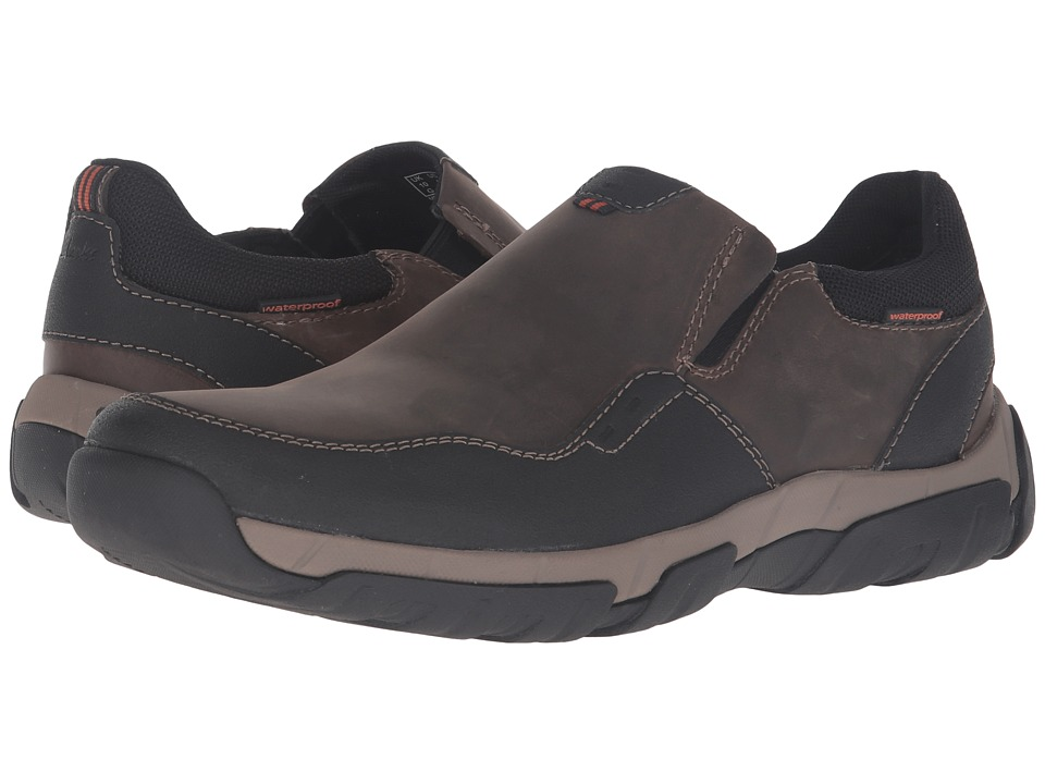 Clarks - Walbeck Style (Olive Leather) Men's Shoes