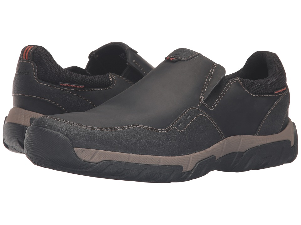 Clarks - Walbeck Style (Black Leather) Men's Shoes