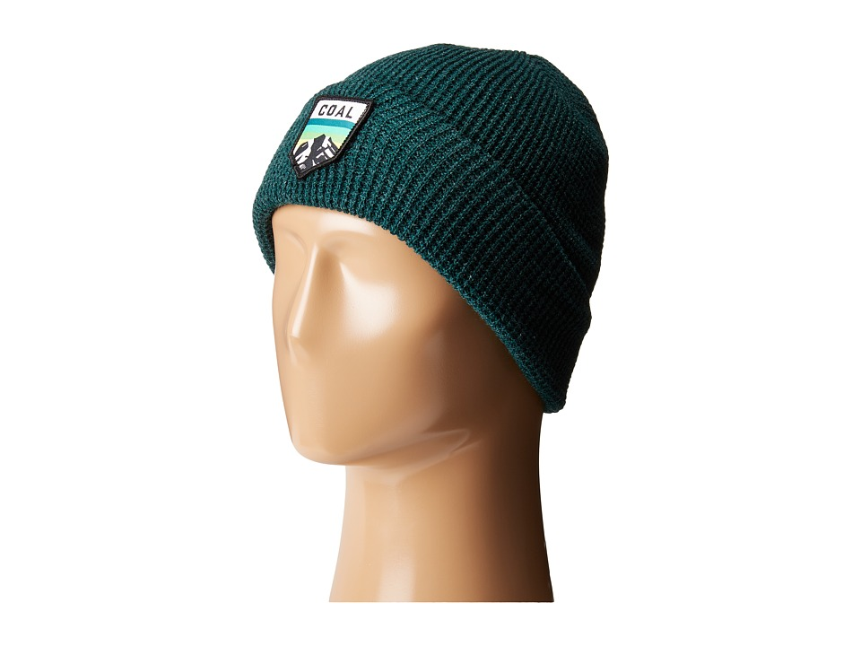 Coal - The Summit Beanie (Heather Forest Green) Caps
