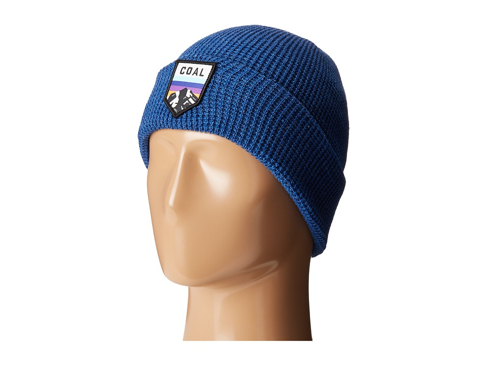 Coal - The Summit Beanie (Heather Royal Blue) Caps