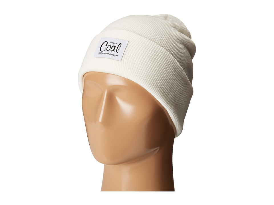 Coal - The Mel (Creme) Knit Hats
