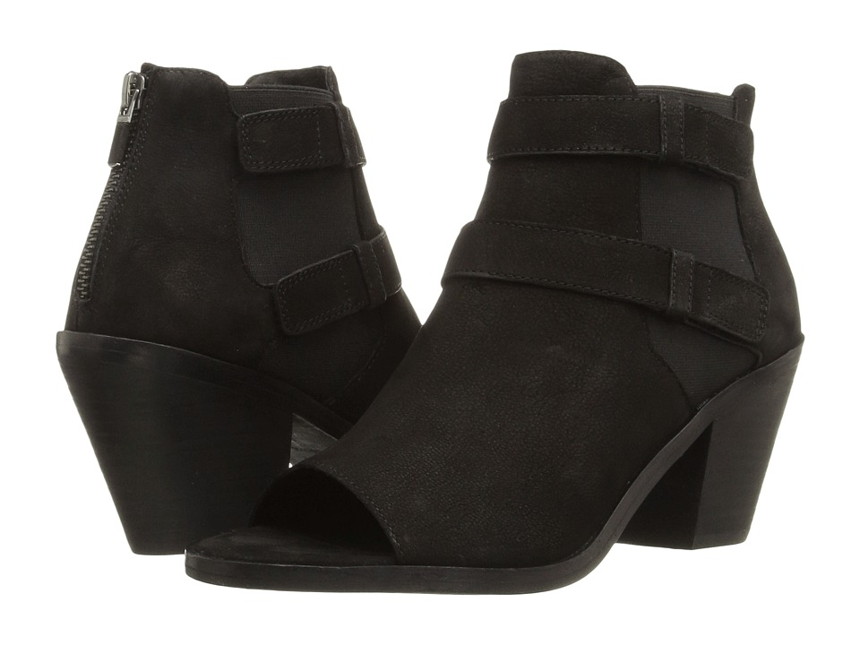 Eileen Fisher - List (Black Tumbled Nubuck) High Heels