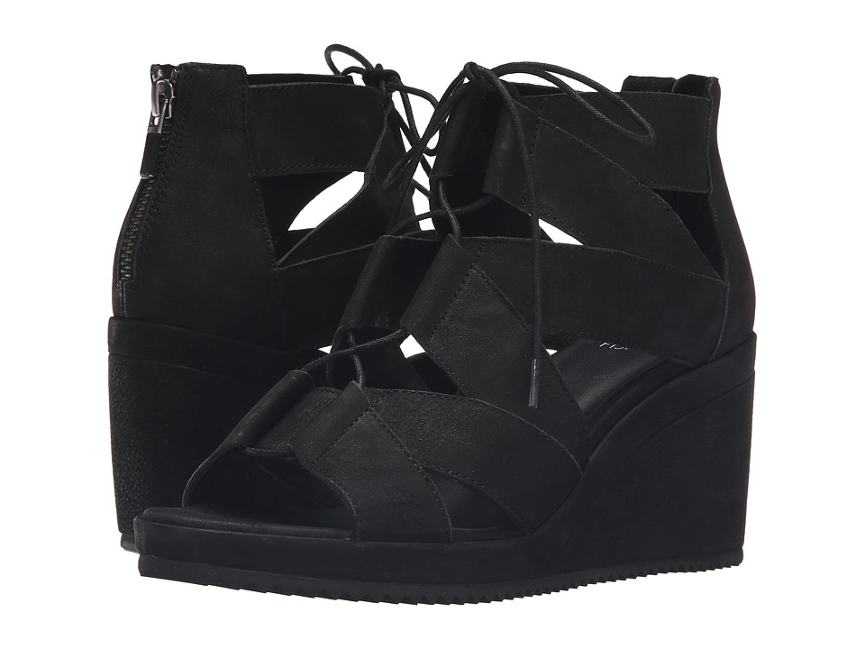 Eileen Fisher Dibs (Black Tumbled Nubuck) Women
