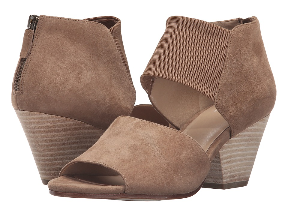 Eileen Fisher - Chat (Sienna Suede/Stretch Mesh) High Heels