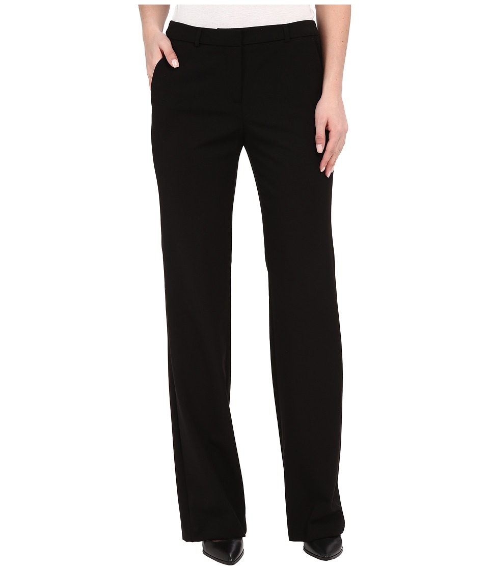 Ellen Tracy - Flare Leg Trousers (E Black) Women's Casual Pants