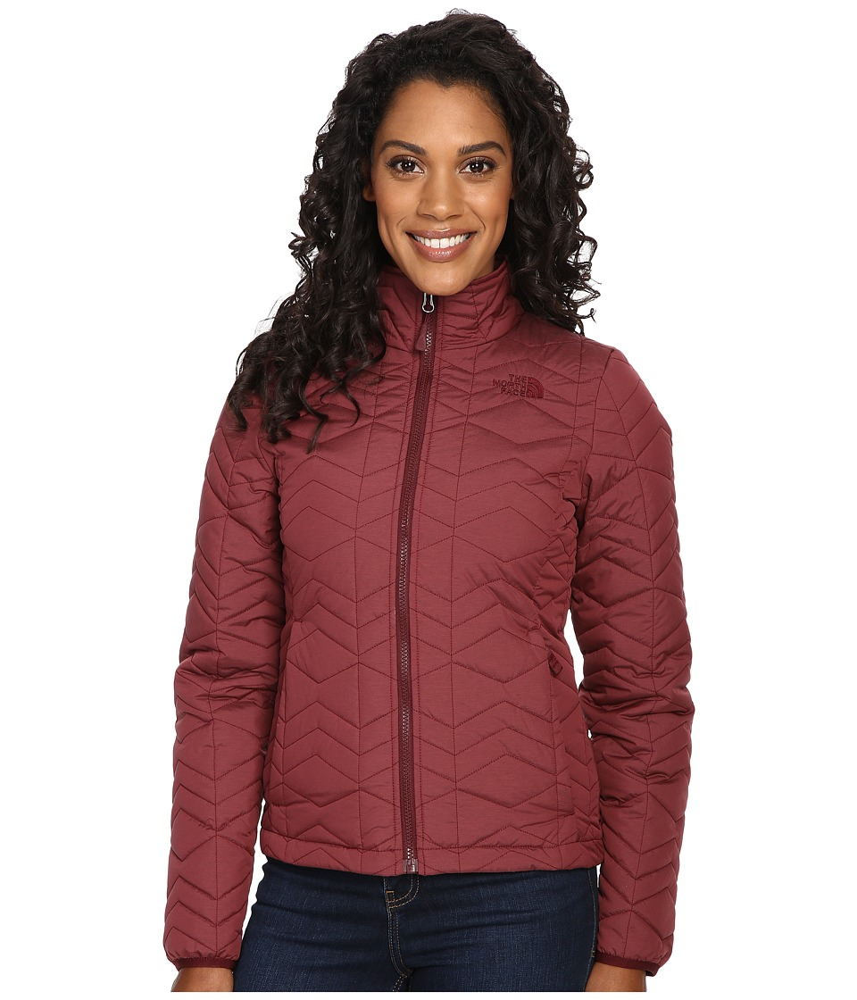 The North Face Bombay Jacket (Deep Garnet Red Heather) Women