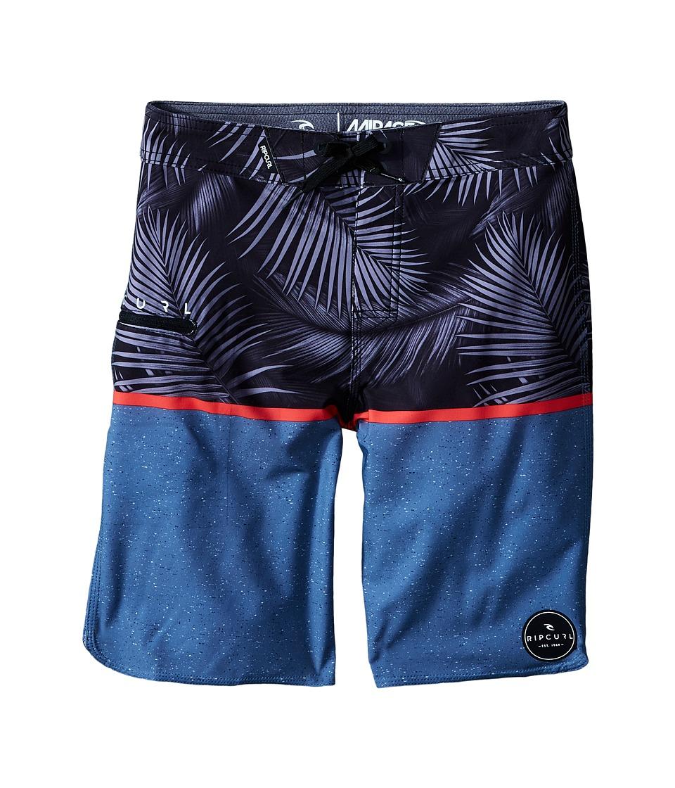 Rip Curl Kids - Mirage Split Boardshorts (Big Kids) (Light Grey) Boy's Swimwear