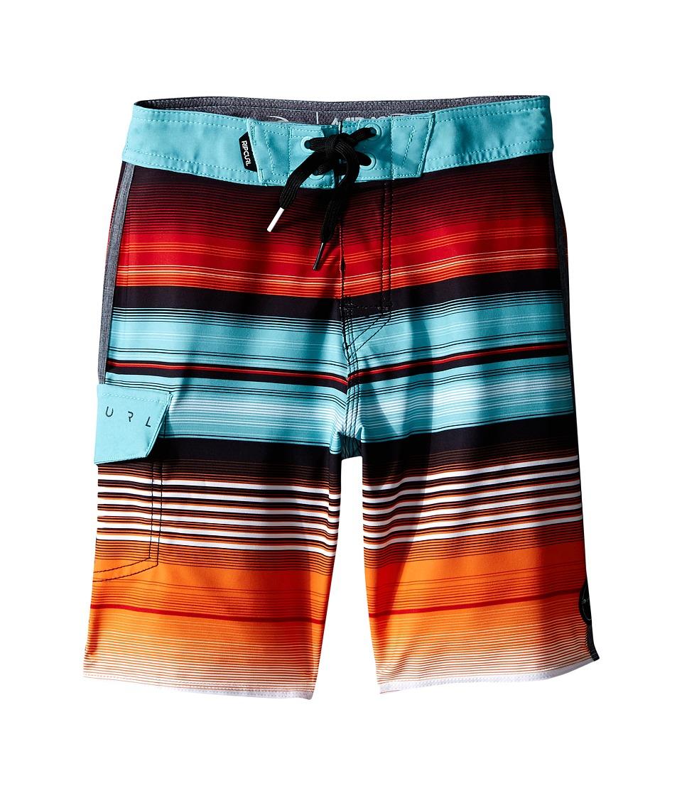 Rip Curl Kids - Overrun Boardshorts (Big Kids) (Orange) Boy's Swimwear