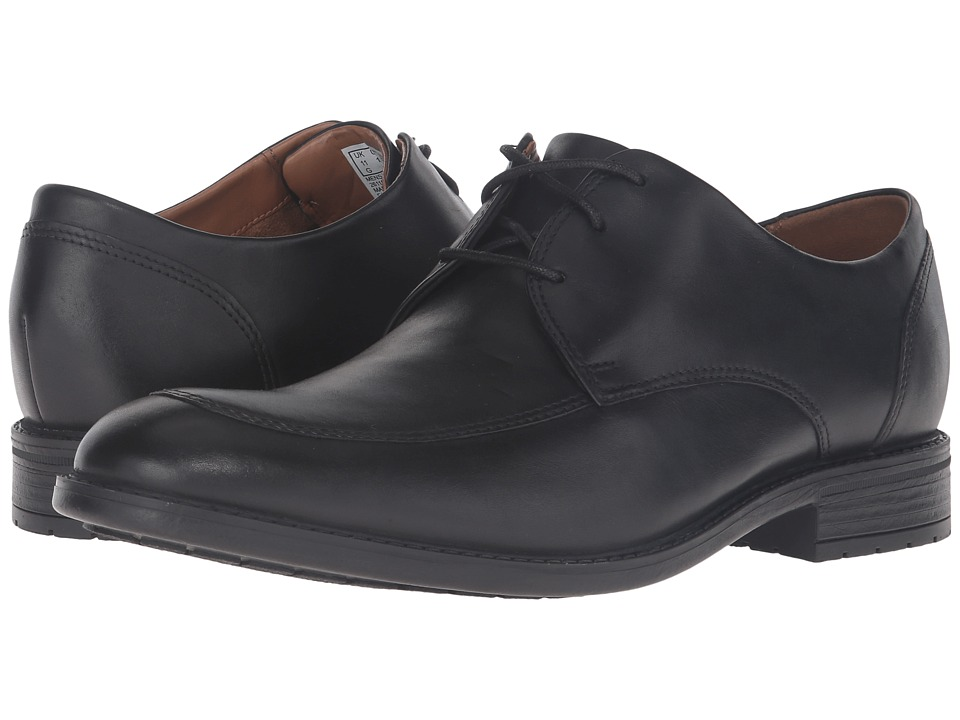 Clarks - Truxton Pace (Black Waterproof) Men