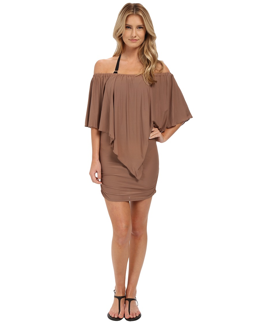 Luli Fama - Cosita Buena Party Dress Cover-Up (Sandy Toes) Women's Dress