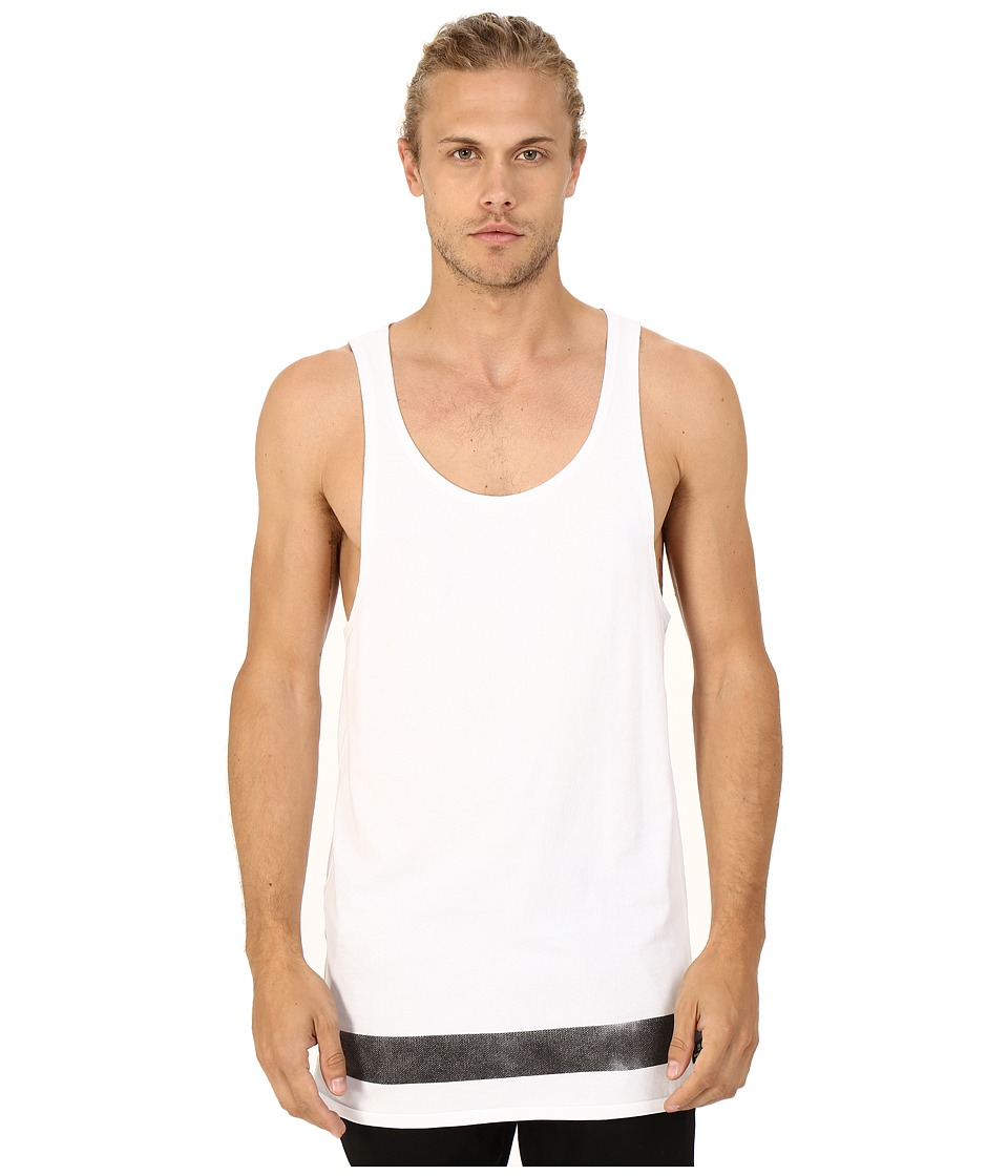 Scotch & Soda - Retro Surf Singlet (White) Men's Sleeveless