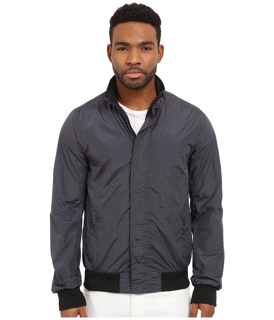 Scotch & Soda - Basic Nylon Bomber Jacket (Black) Men's Coat