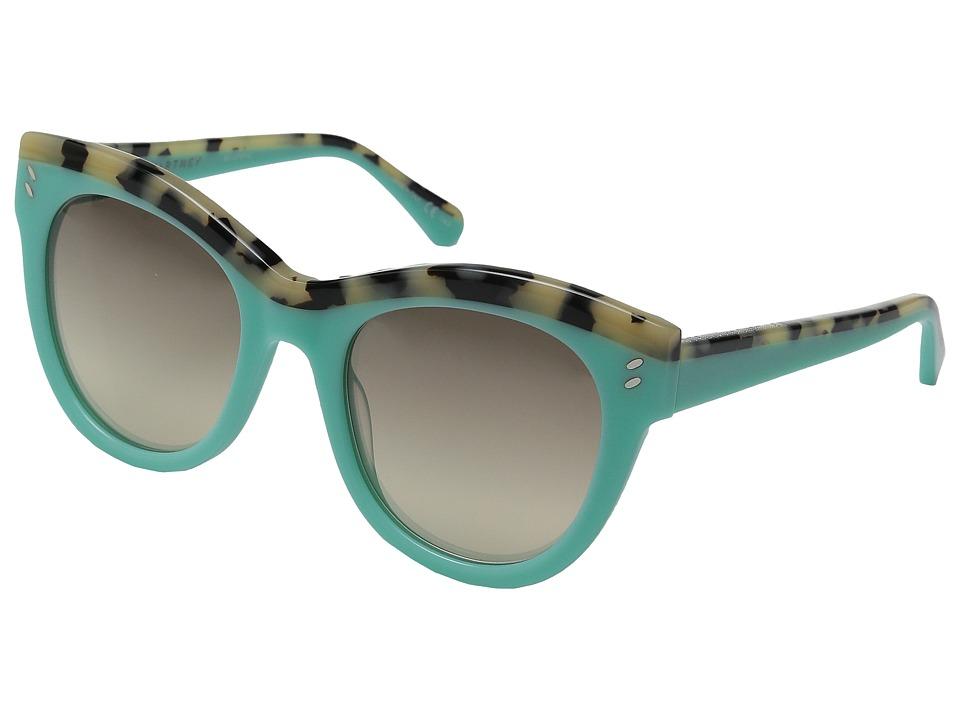 Stella McCartney - SC0021S (Light Blue/Grey Gradient) Fashion Sunglasses