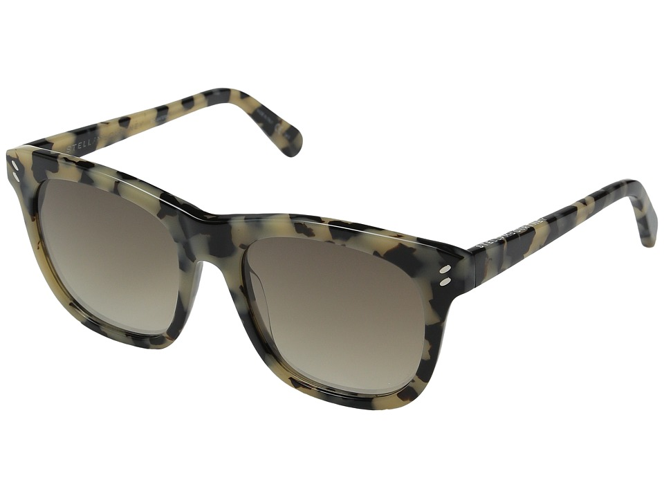 Stella McCartney - SC0001S (Vintage Havana/Grey Gradient) Fashion Sunglasses