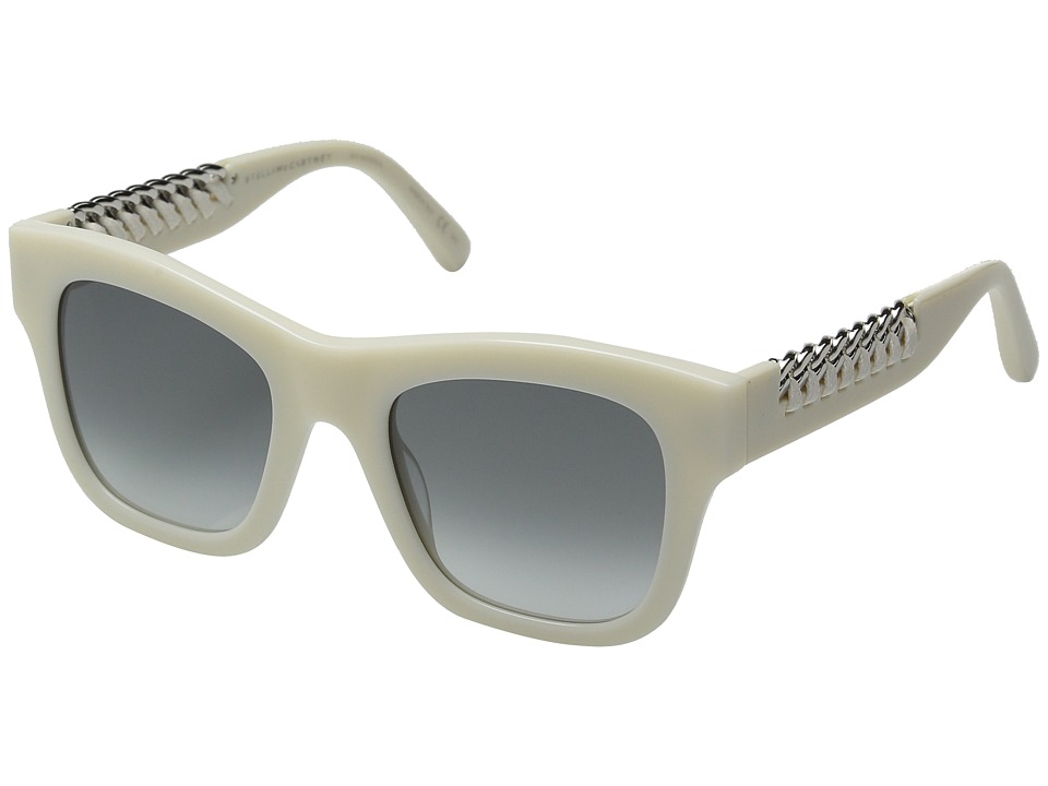 Stella McCartney - SC0011S (White/Grey Gradient) Fashion Sunglasses