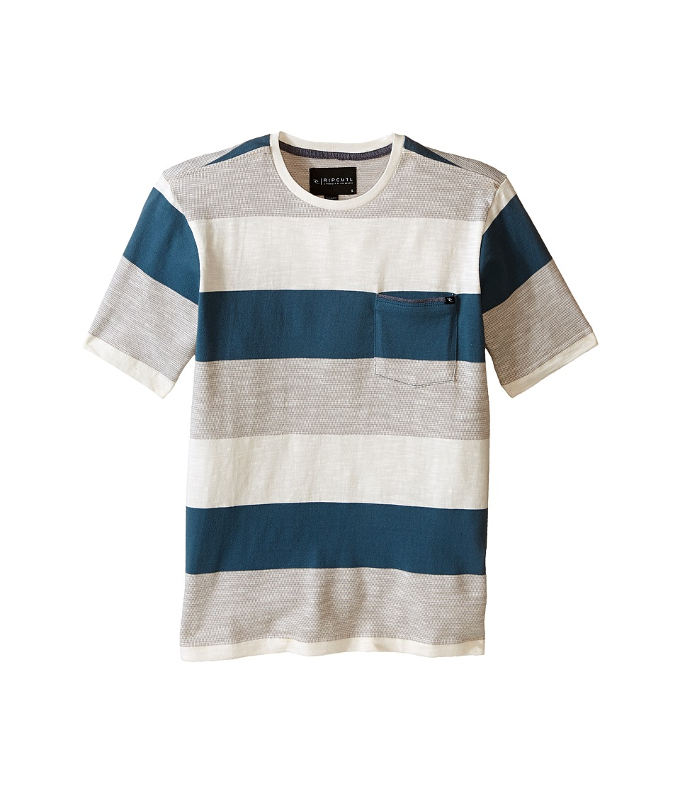 Rip Curl Kids - Felix Short Sleeve Crew (Big Kids) (Off-White) Boy's Short Sleeve Pullover