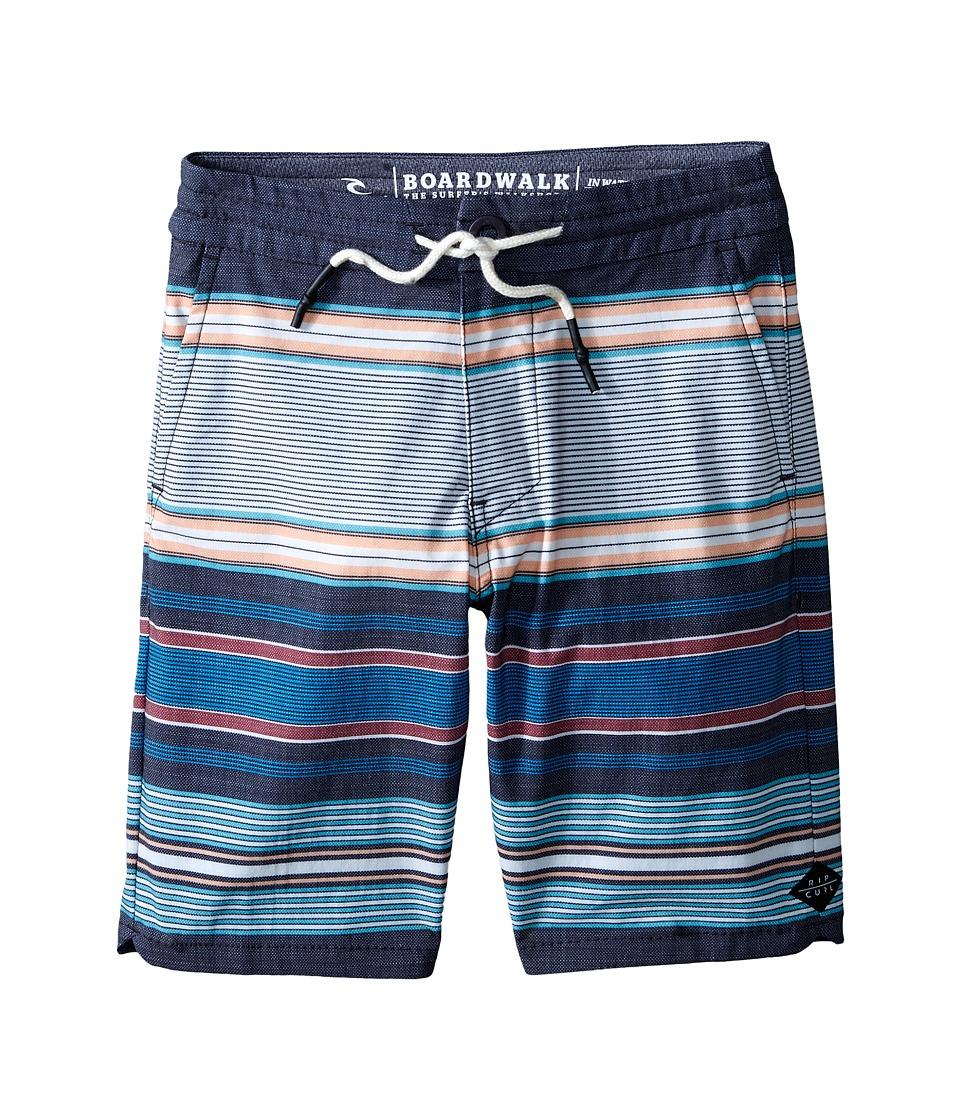 Rip Curl Kids - Rendezvous Boardwalk (Big Kids) (Black) Boy's Shorts