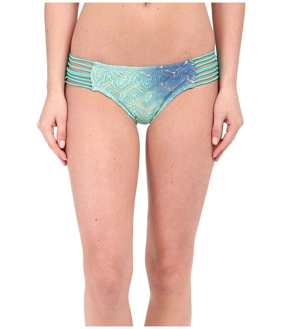 Luli Fama - Siete Mares Braided Side Full Bottom (Multicolor) Women's Swimwear