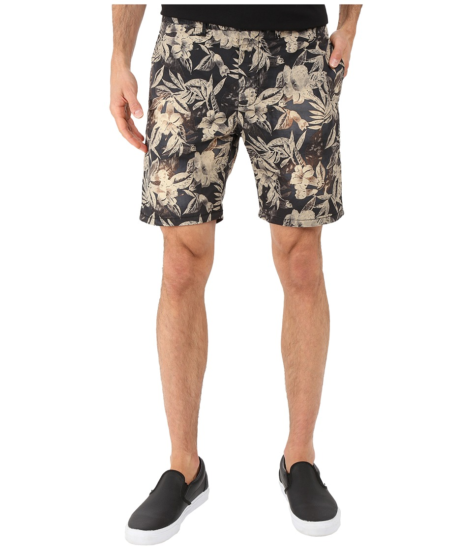 Scotch & Soda - Classic Poplin Summer Chino Shorts (Black) Men's Shorts