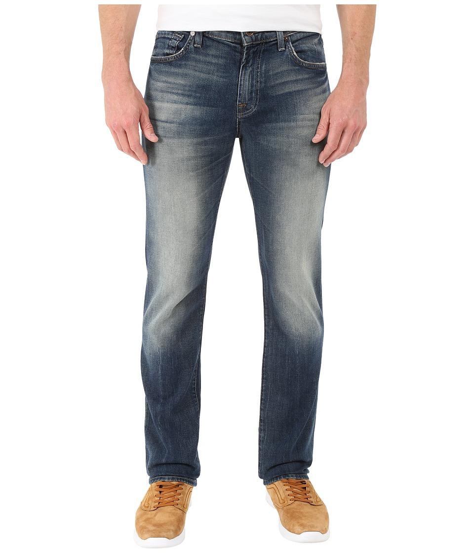 7 For All Mankind - Slimmy w/ Clean Pocket in Seaside Vintage (Seaside Vintage) Men's Jeans