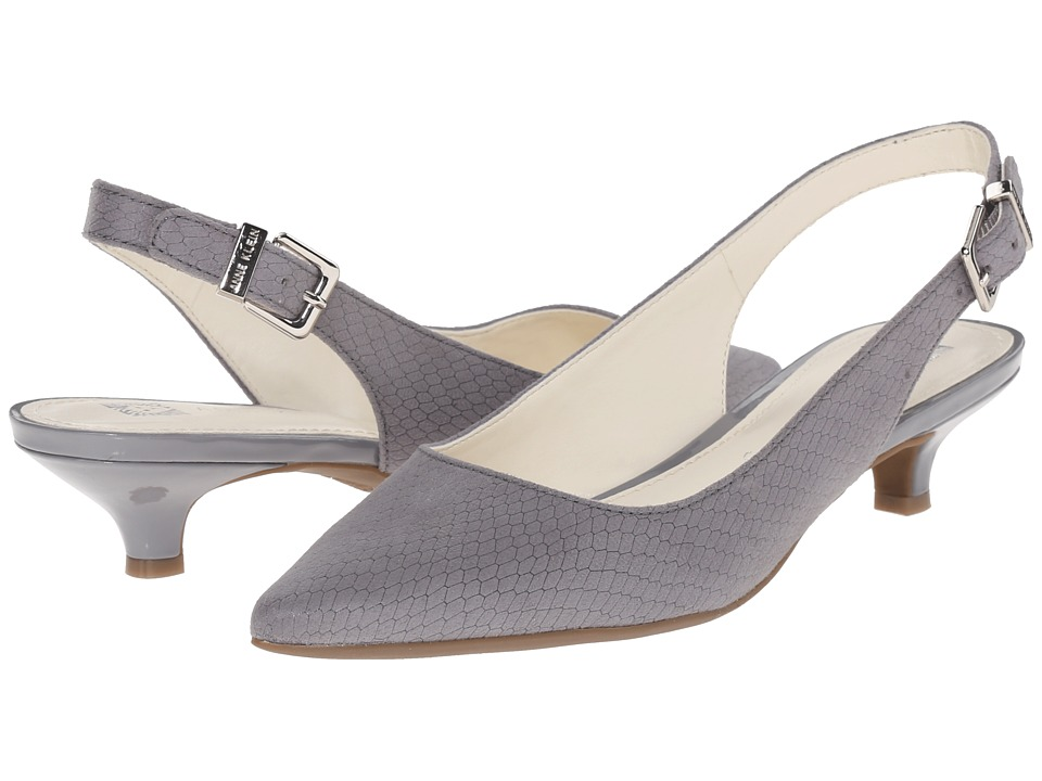 Anne Klein - Expert (Grey Reptile 1) Women's 1-2 inch heel Shoes