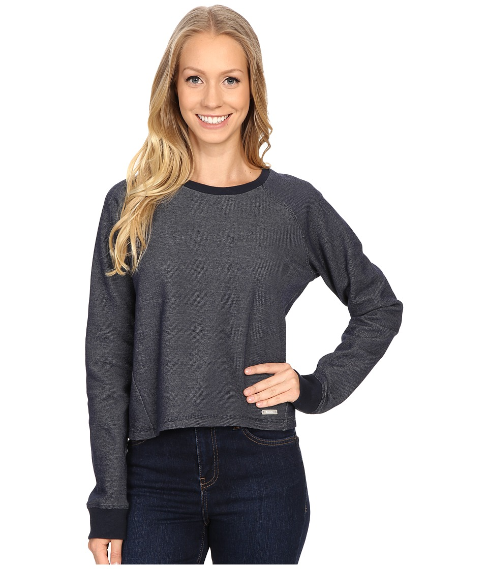 Bench - Contemplation Overhead Pullover Sweatshirt (Total Eclipse) Women