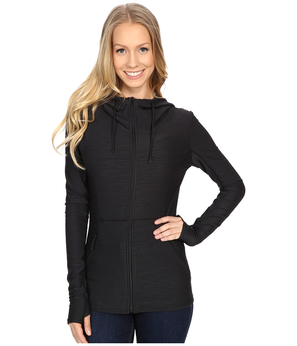 Bench - Bobble Zip-Up Hoodie (Jet Black) Women's Sweatshirt