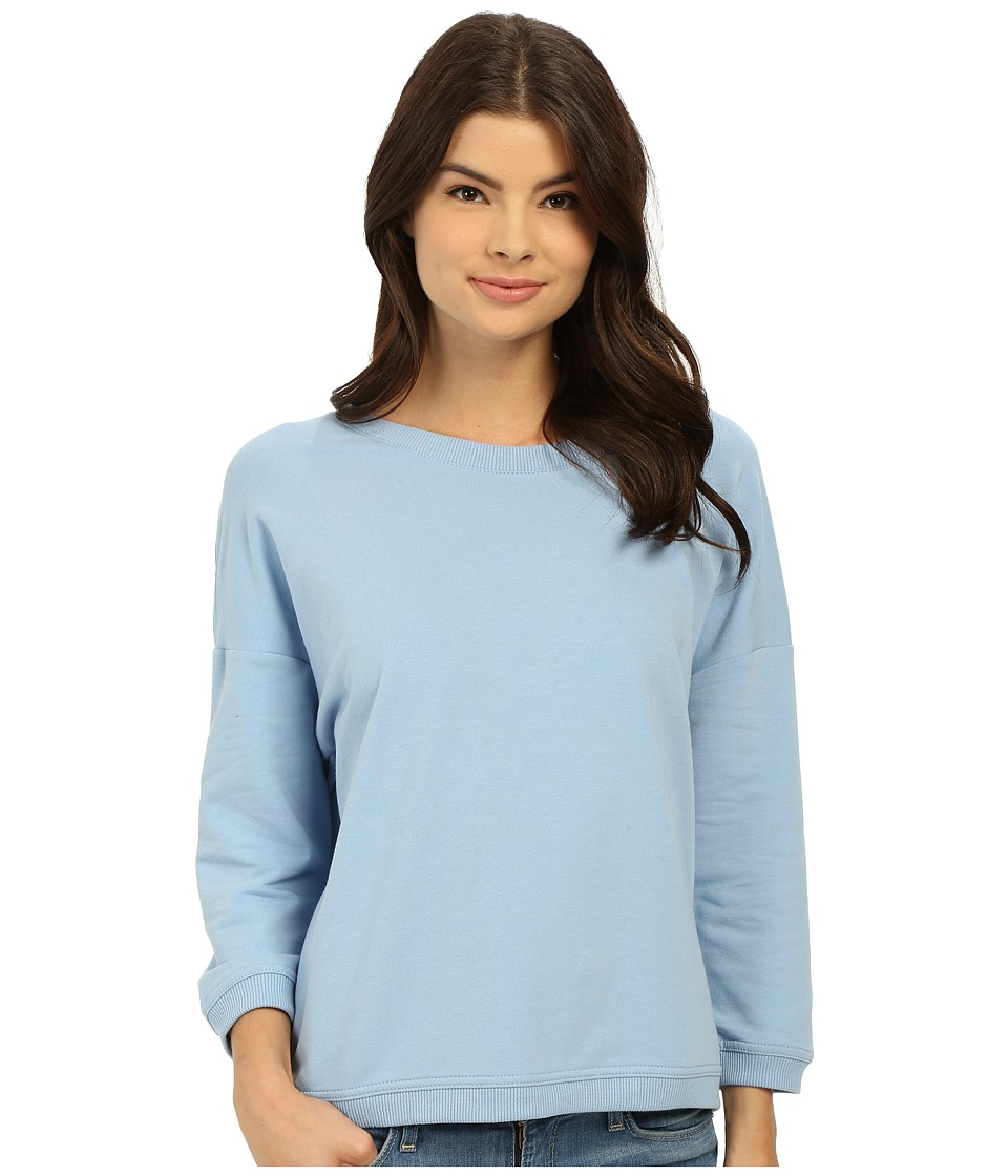Bench - Glorify Overhead Pullover Sweatshirt (Powder Blue) Women's Sweatshirt