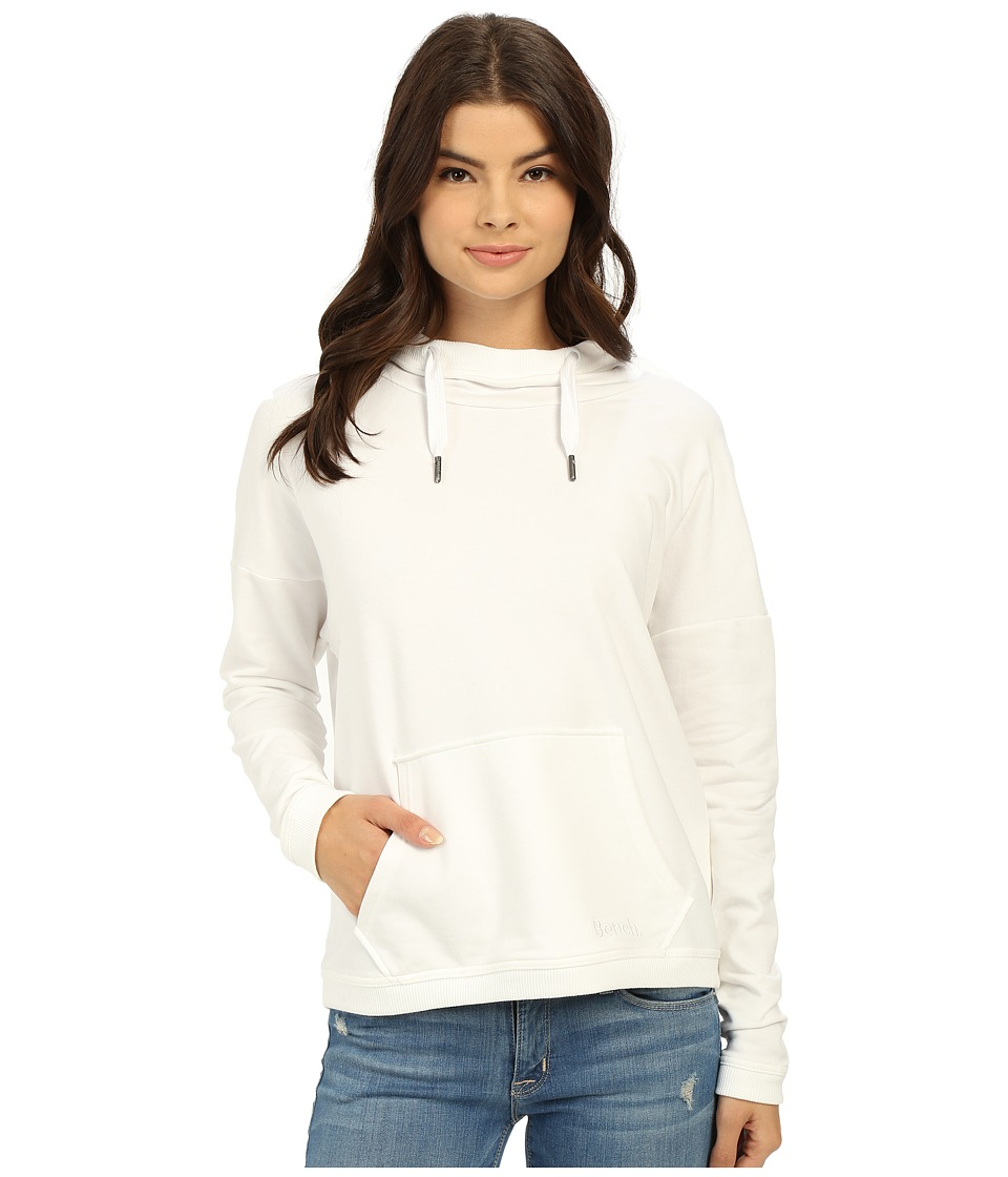Bench - Original Overhead Pullover Sweatshirt (Bright White) Women's Sweatshirt