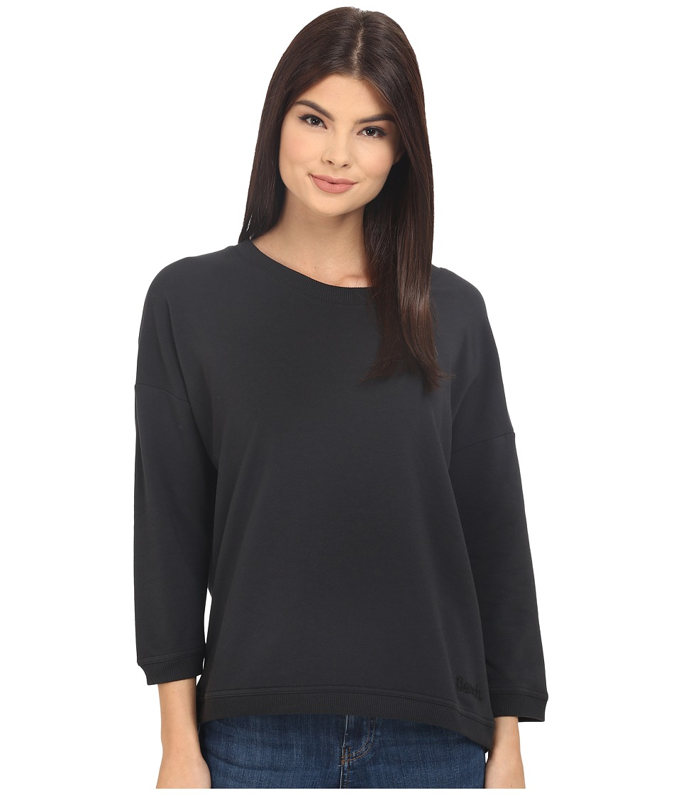 Bench - Glorify Overhead Pullover Sweatshirt (Jet Black) Women's Sweatshirt