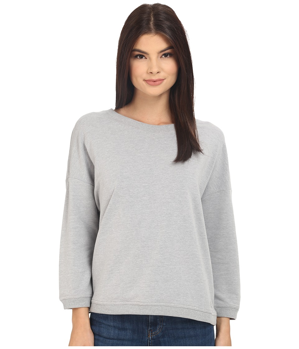 Bench - Glorify Overhead Pullover Sweatshirt (Grey) Women's Sweatshirt