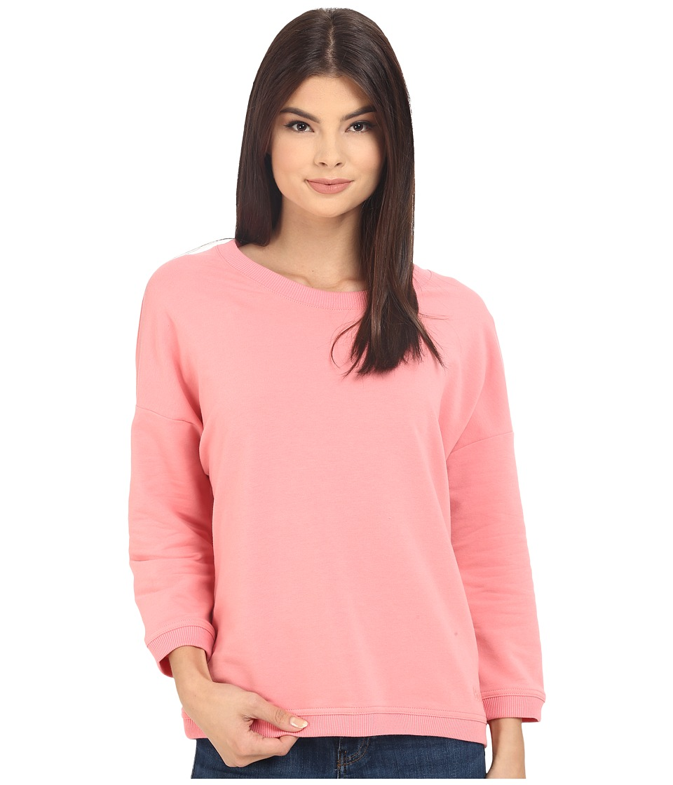 Bench Glorify Overhead Pullover Sweatshirt (Salmon Rose) Women