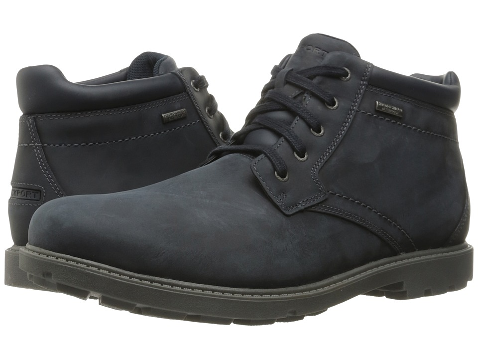 Rockport Rugged Bucks Waterproof Boot (New Dress Blues) Men