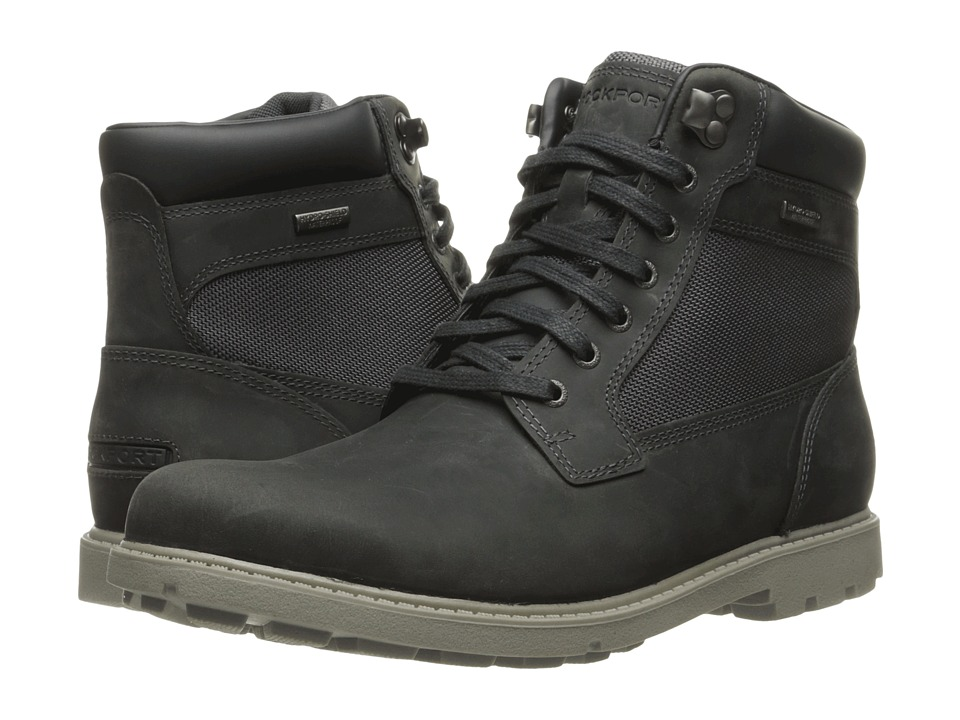 Rockport - Rugged Bucks Waterproof High Boot (Castlerock Grey) Men's Waterproof Boots