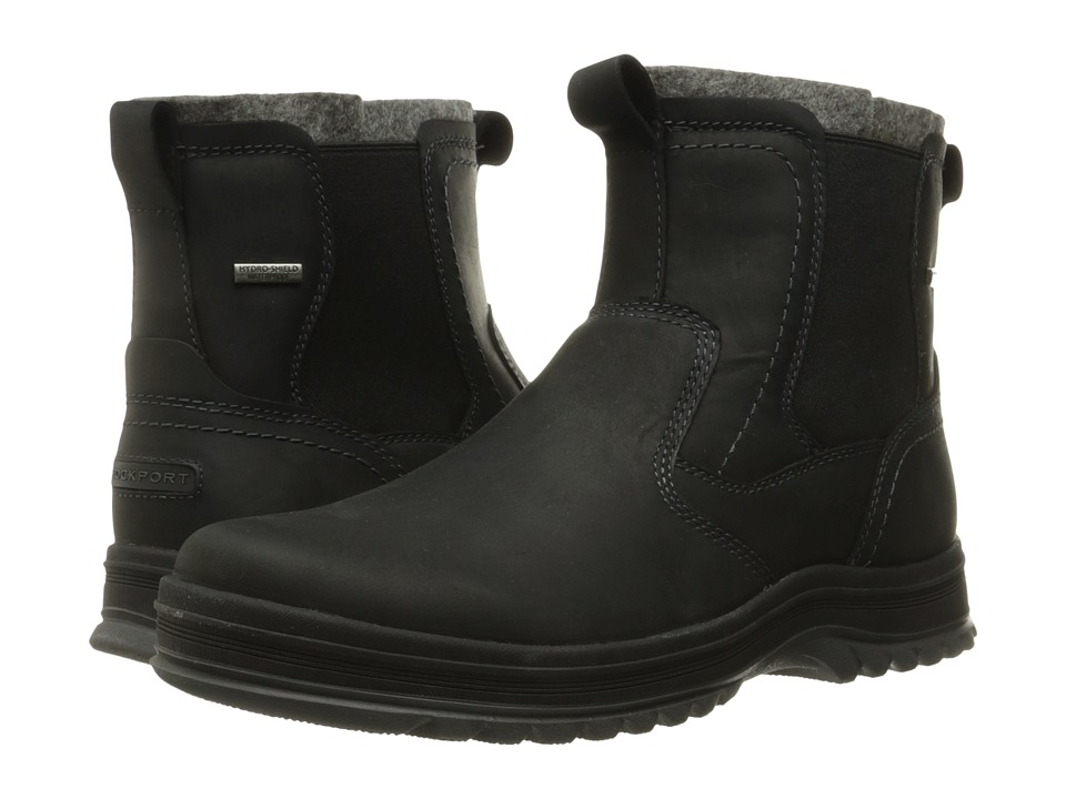 Rockport - World Explorer Chelsea (Black) Men's Boots