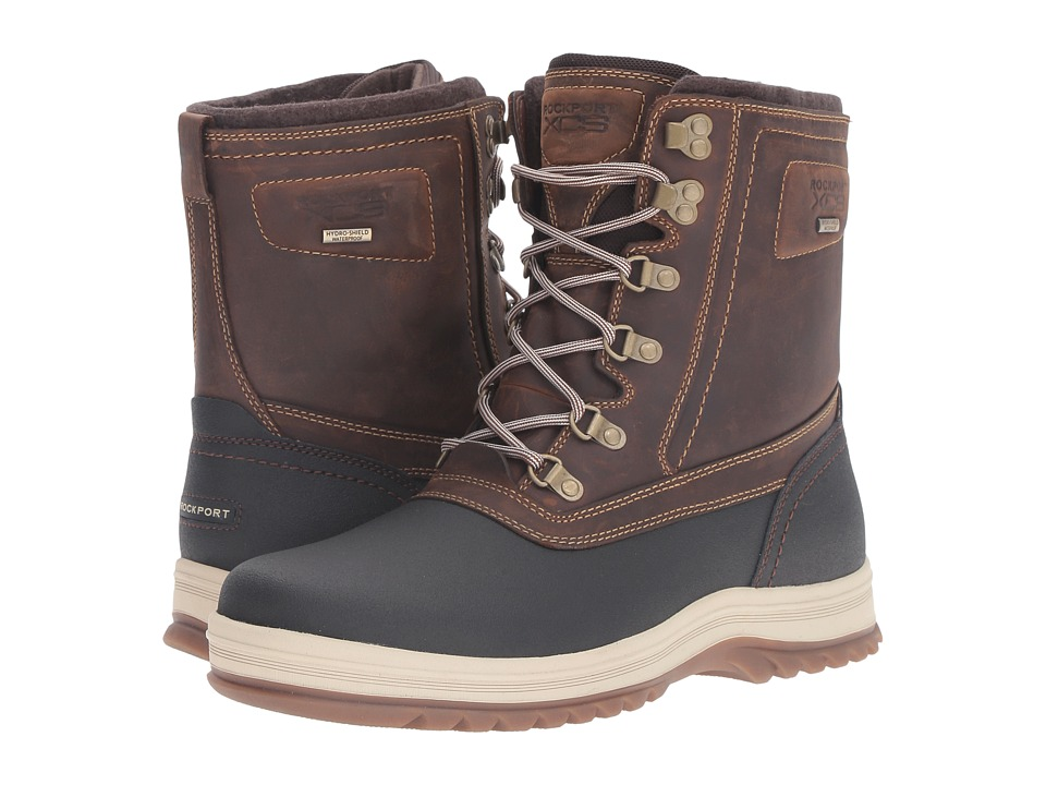 Rockport - World Explorer High Boot (Tan) Men's Lace-up Boots