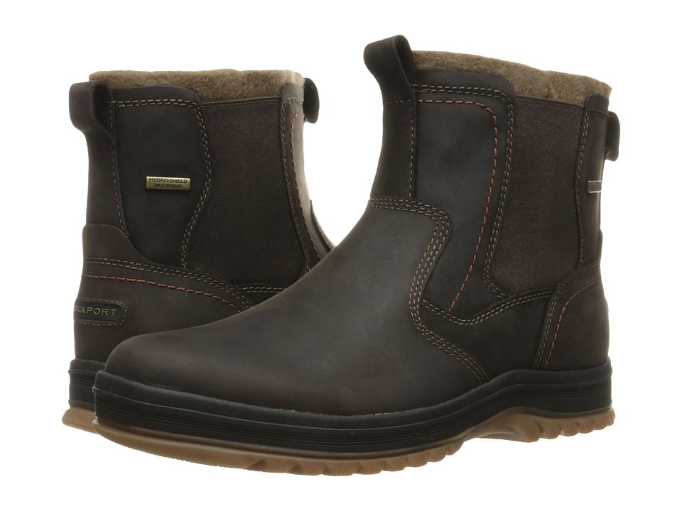 Rockport - World Explorer Chelsea (Dark Bitter Chocolate) Men's Boots