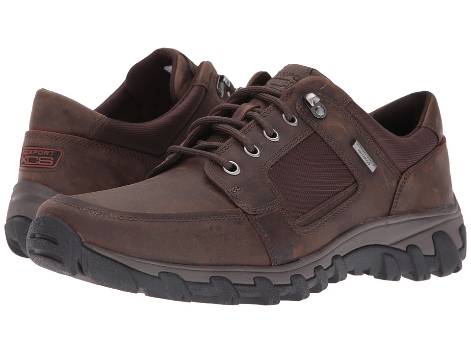Rockport - Cold Springs Plus Lace To Toe (Dark Brown) Men's Lace up casual Shoes
