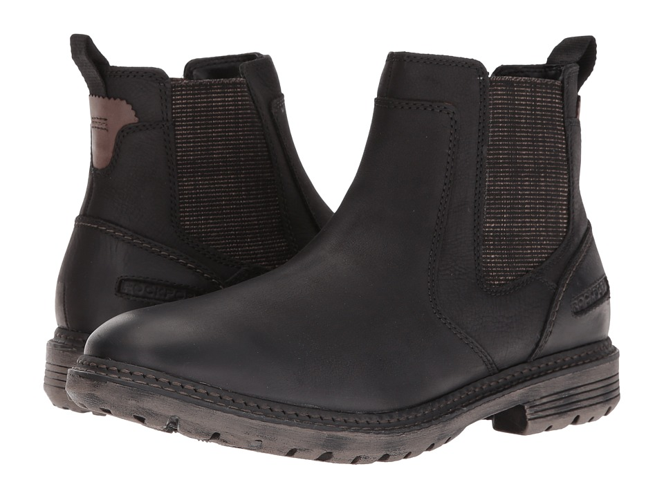 Rockport - Urban Retreat Chelsea (Black) Men's Boots