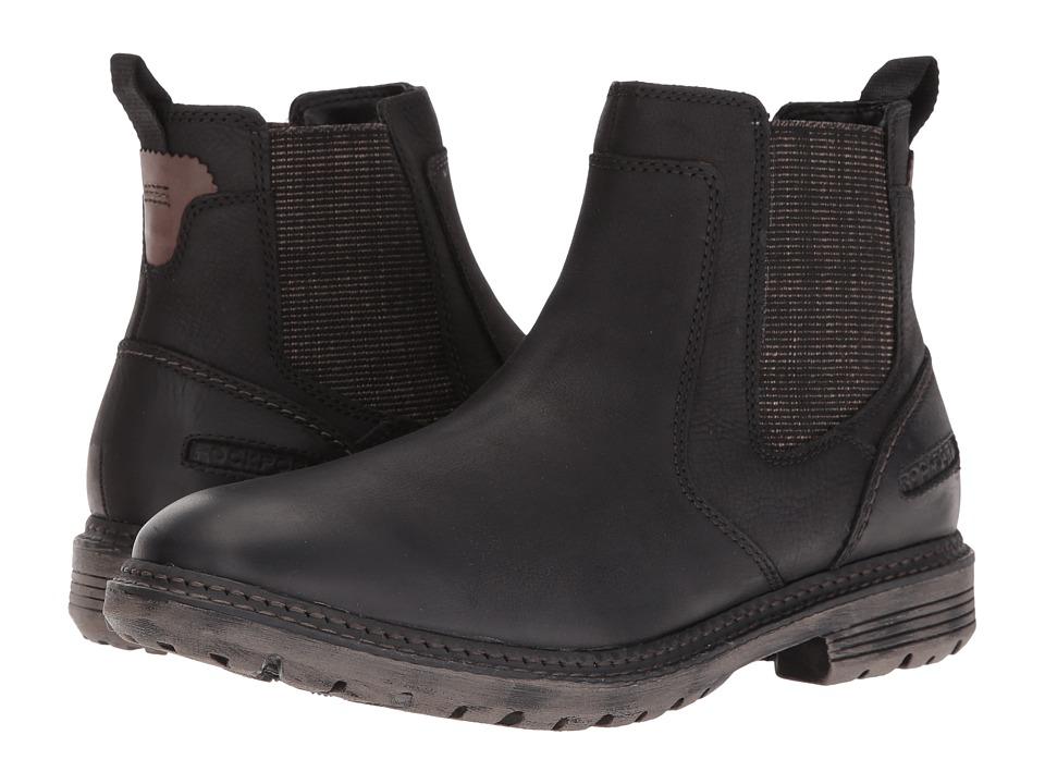 Rockport - Urban Retreat Chelsea (Black) Men's Boots