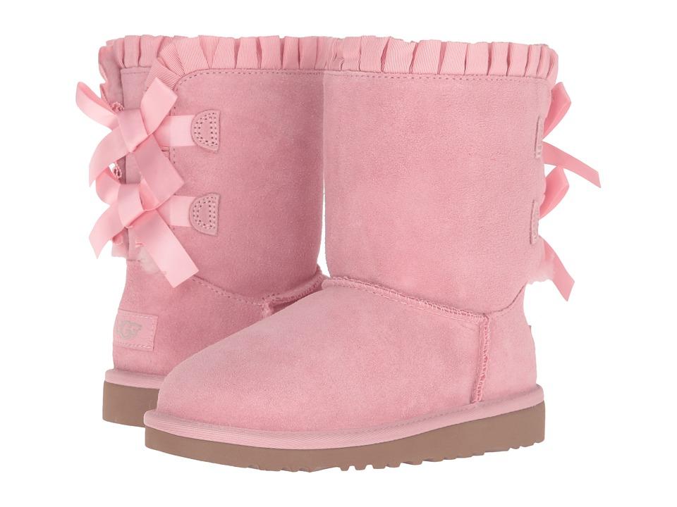 UGG Kids - Bailey Bow Ruffles (Little Kid/Big Kid) (Baby Pink) Girls Shoes