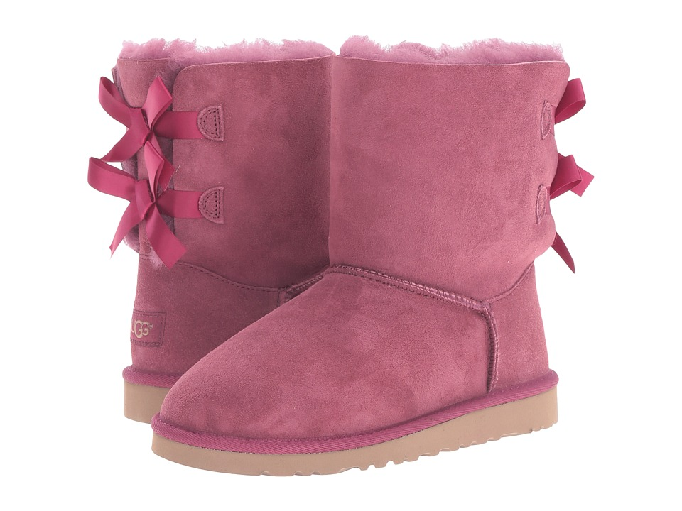 UGG Kids - Bailey Bow (Big Kid) (Bougainvillea) Girls Shoes