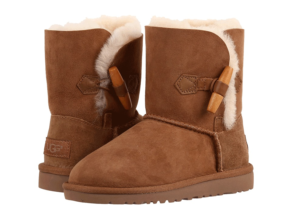 UGG Kids Ebony (Little Kid/Big Kid) (Chestnut) Girls Shoes