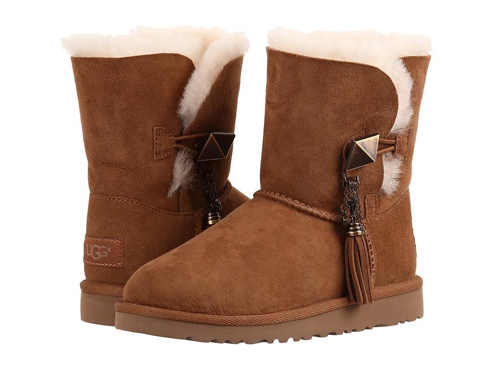 UGG Kids Lillian (Little Kid/Big Kid) (Chestnut) Girls Shoes
