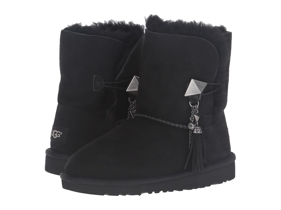 UGG Kids - Lillian (Little Kid/Big Kid) (Black) Girls Shoes