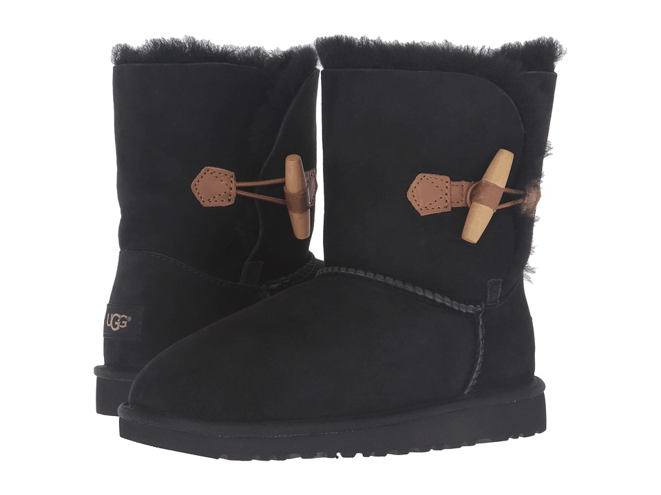 UGG Kids - Ebony (Big Kid) (Black) Girls Shoes
