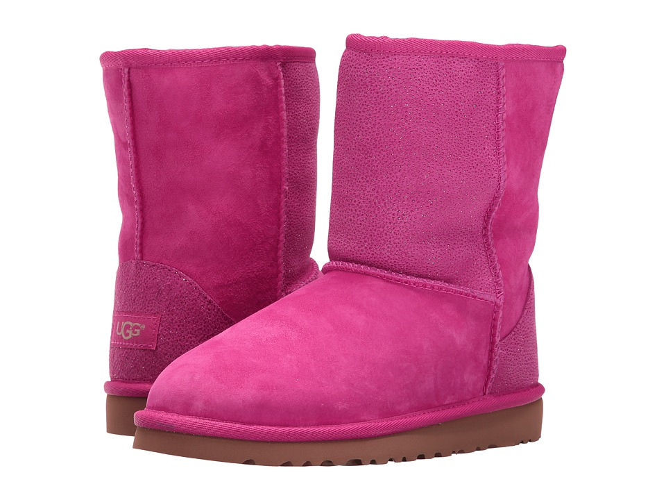 UGG Kids - Classic Short Serein (Big Kid) (Diva Pink) Girls Shoes