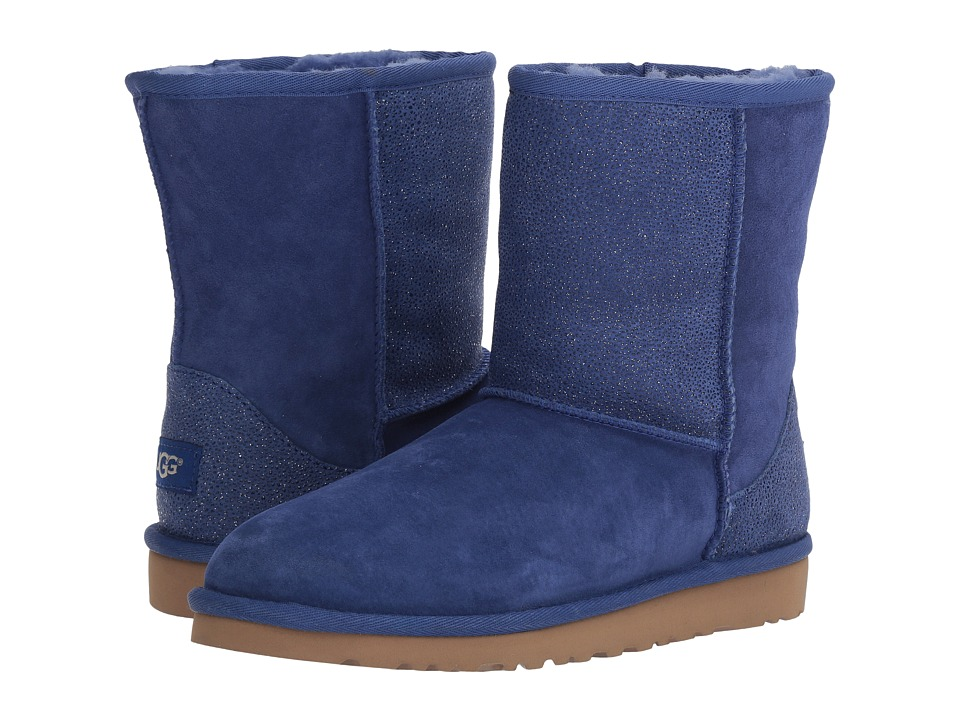 UGG Kids - Classic Short Serein (Big Kid) (Night Sky) Girls Shoes