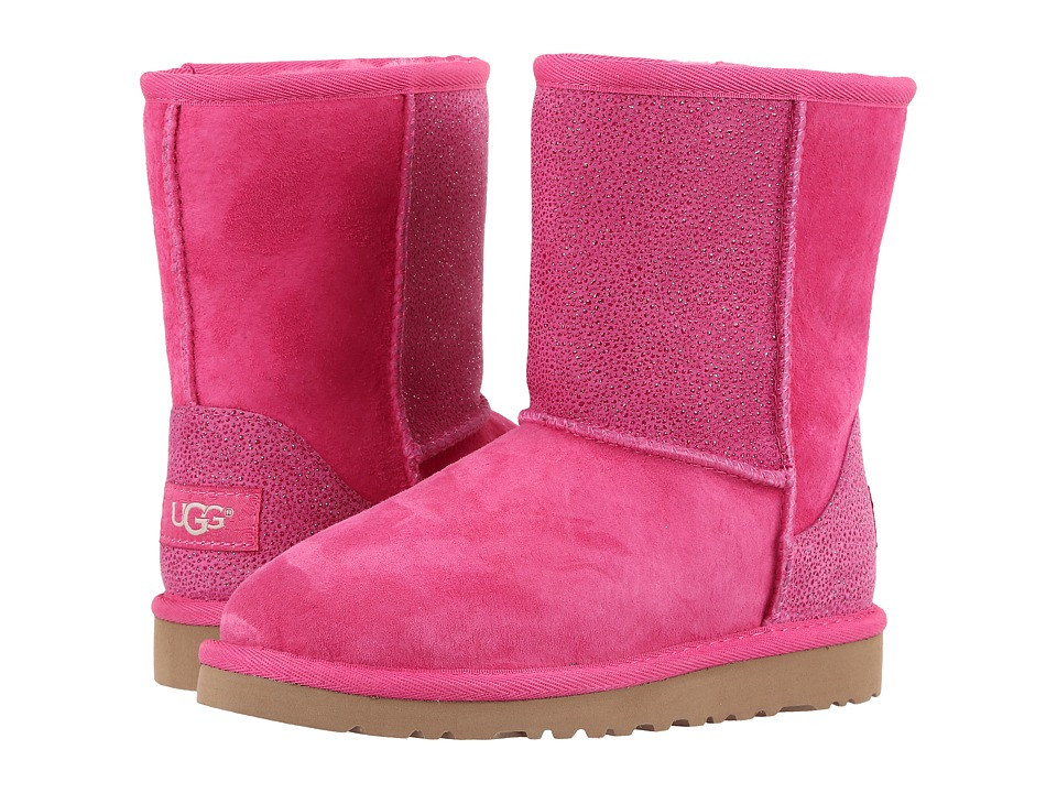 UGG Kids - Classic Short Serein (Little Kid/Big Kid) (Diva Pink) Girls Shoes
